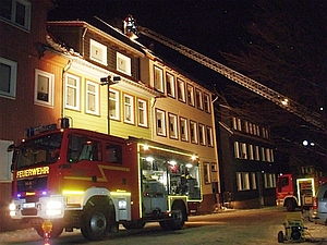 Fotos vom Schornsteinbrand in Wildemann